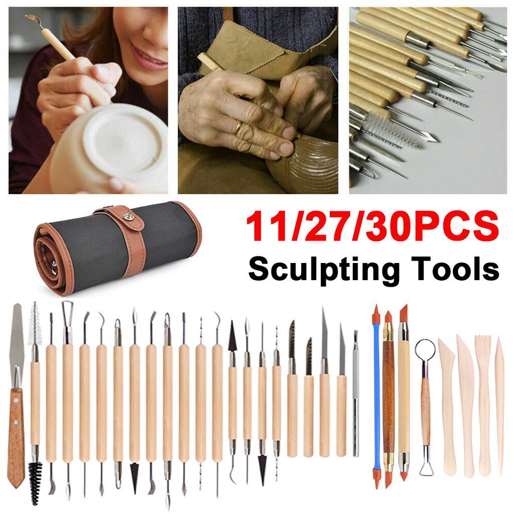 8Pcs//set Pottery DIY Tool Clay Molding Ceramics Molding Tools Artwork KitSFFR