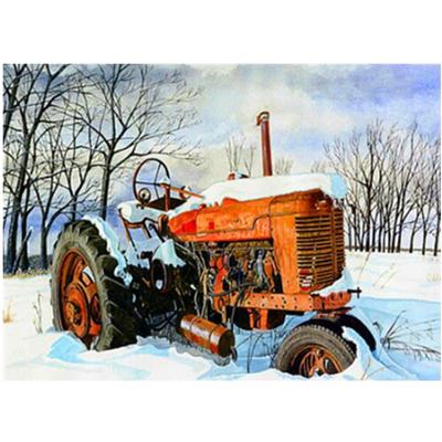 Full Drill Tractor DIY 5D Diamond Painting Embroidery Truck Cross Stitch Kits