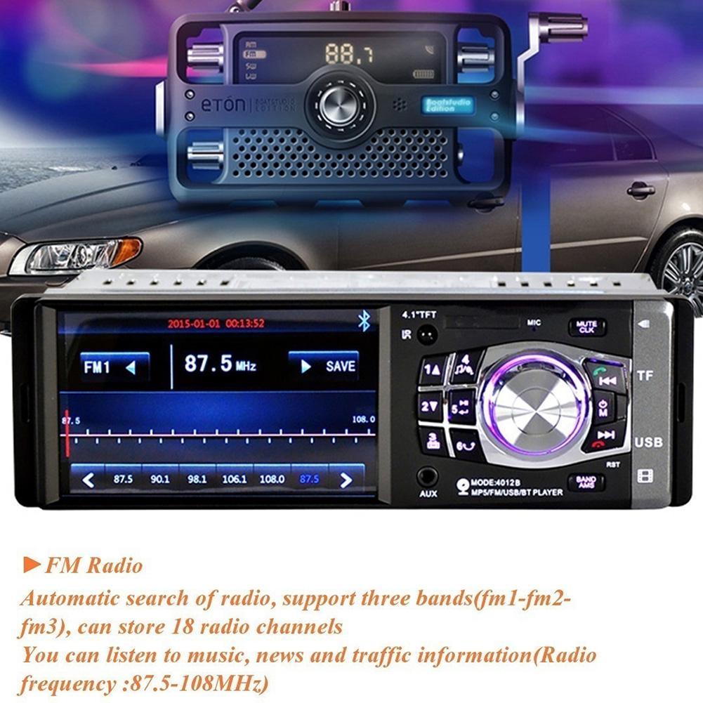 Bluetooth сенсорный экран автомобиль Радио Стерео FM USB MP5 Player – купить по низким ценам в интернет-магазине Joom