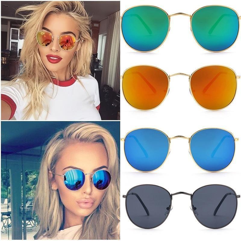 Солнцезащитные очки зеркальные линзы