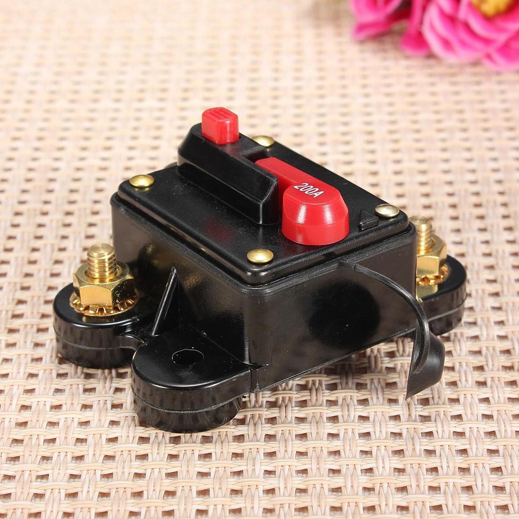 200A Auto Marine Bike Boot Stereo-Audio-Leistungsschalter Inline ...