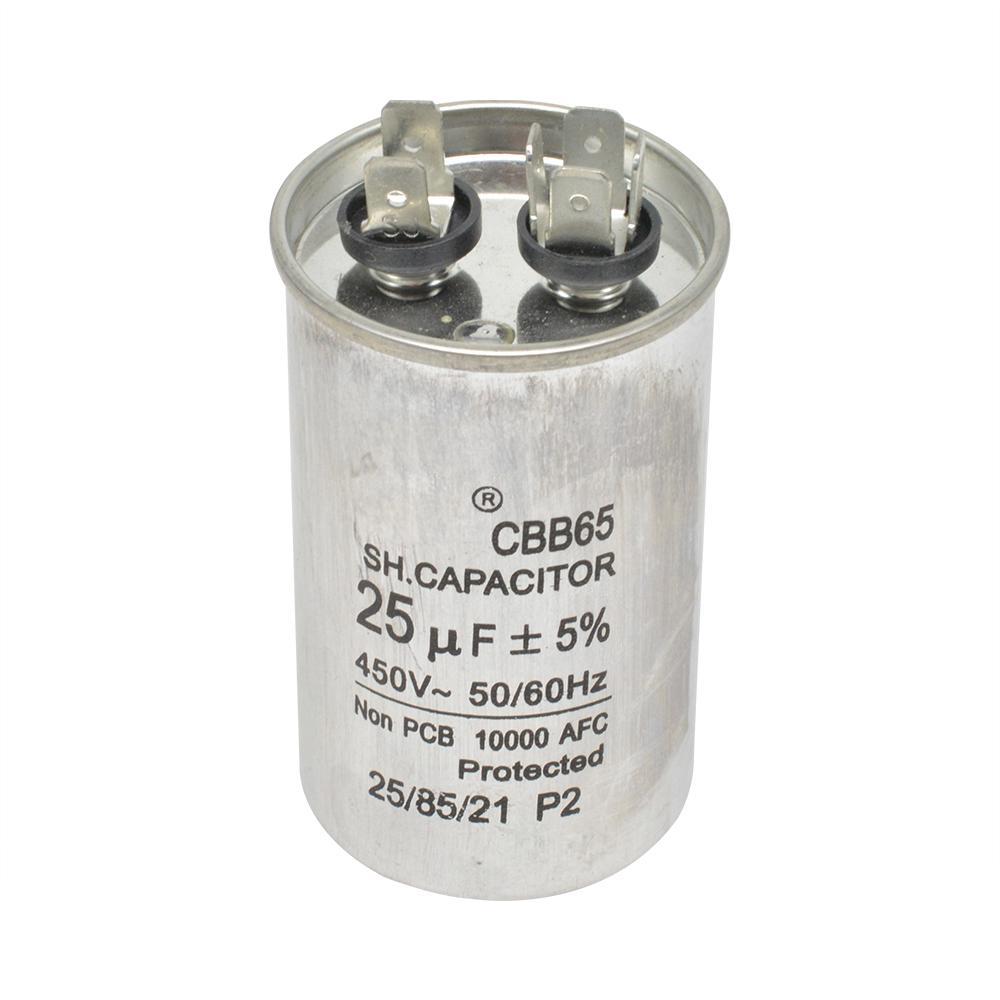 Cbb65 25uf Start Capacitor 450v Ac Motor Capacitor Compressor Cbb65 50 60hz 25 F 5 For Air Conditioner Generator Refrigerator Buy From 7 On Joom E Commerce Platform