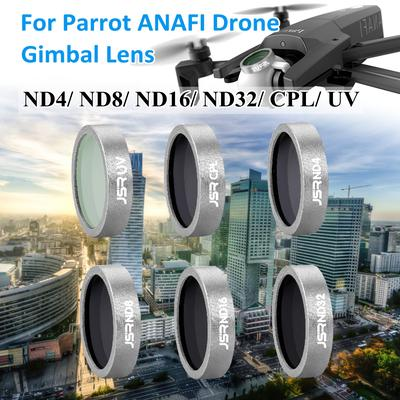 1 Set ND4/ND8/ND16/ND32/CPL/UV Gimbal Camera Lens Filter For Parrot ANAFI  Drone