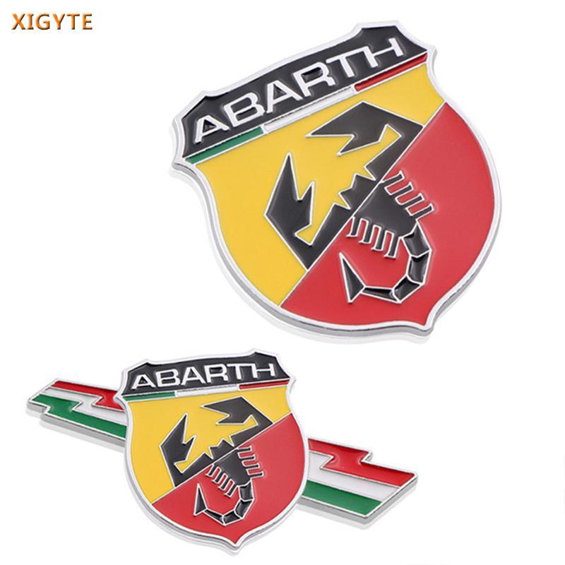 Race Sport Abarth Scorpion Badge Emblem