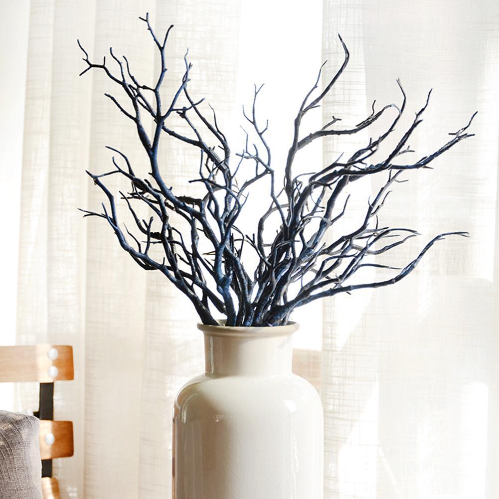 10pcs Simulation Arbre Branches brindilles Home Mariage Floral arrangement Café