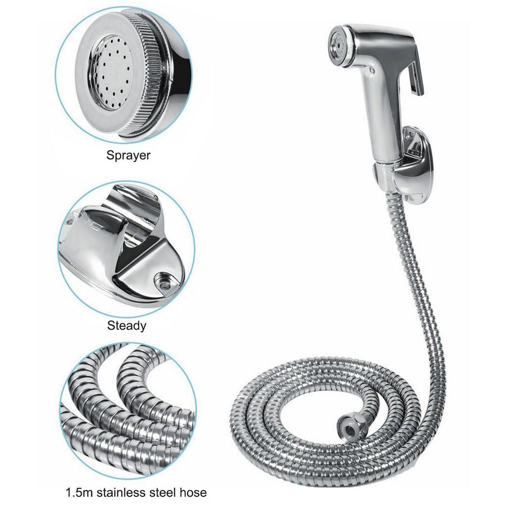 Handheld Toilet Bathroom Bidet Sprayer Shower Head Water Nozzle Sprayer Gun