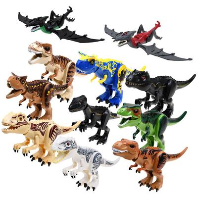 Black Indoraptor Big Dinosaur Large Mixed Raptor Dragon building Blocks Toy Good