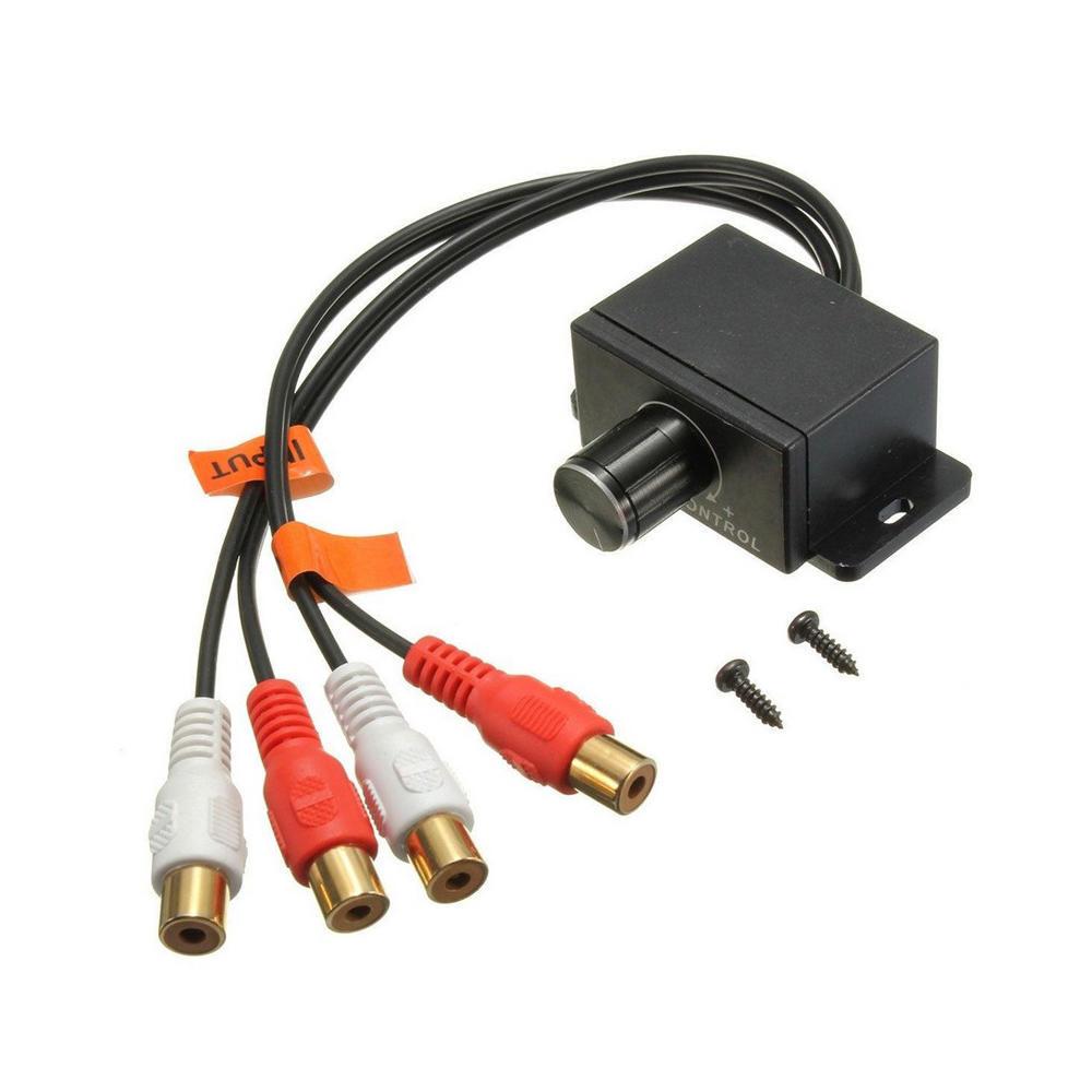 Auto Audio-Verstärker Kontrolle Bass Level RCA Adapter Gain ...