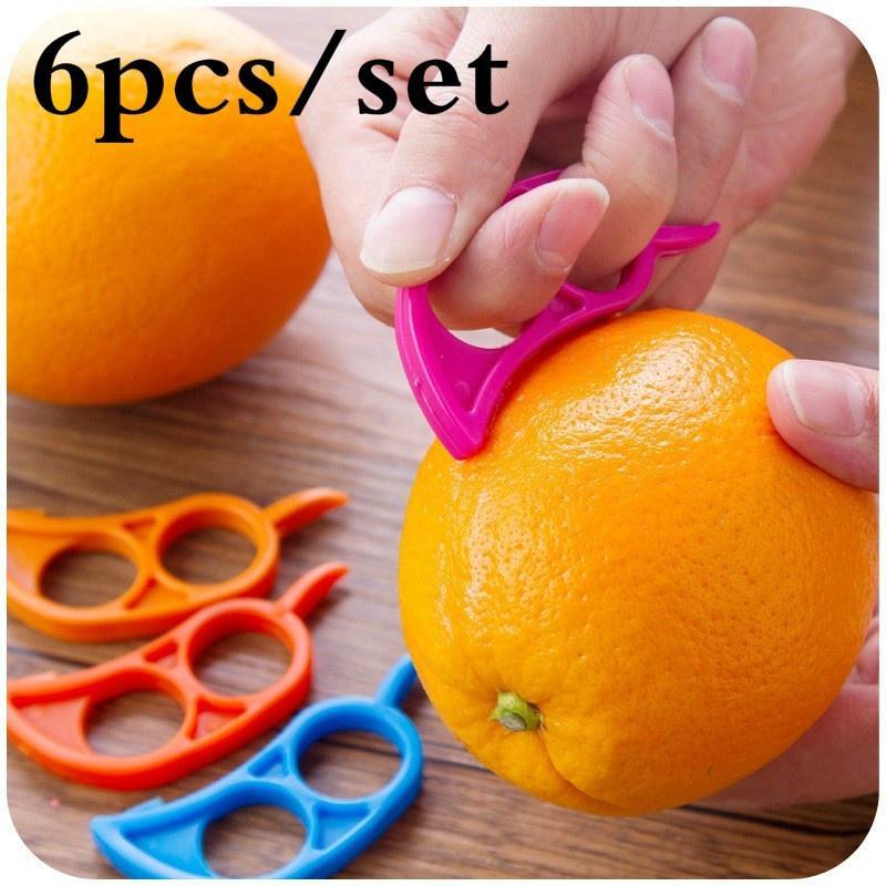 Hot Kitchen Tool Grapefruit Plastic Fruit Slicer Zesters Orange Peeler Lemon
