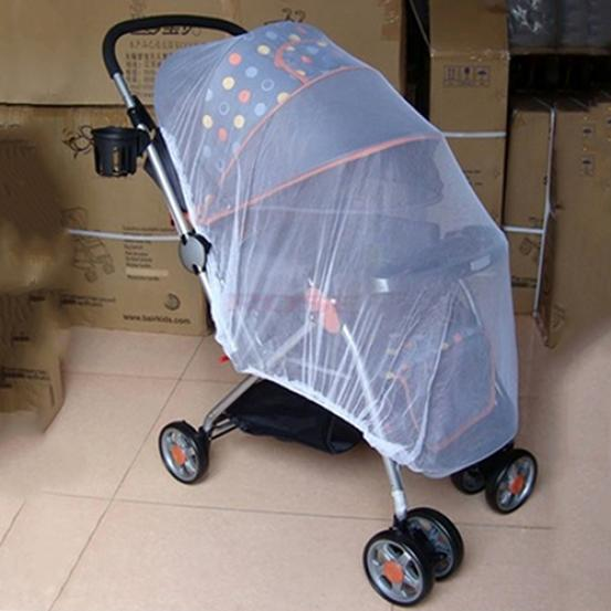 Summer Safe Baby Carriage Fly Insect Full Cover Mosquito Net Polyester Mesh