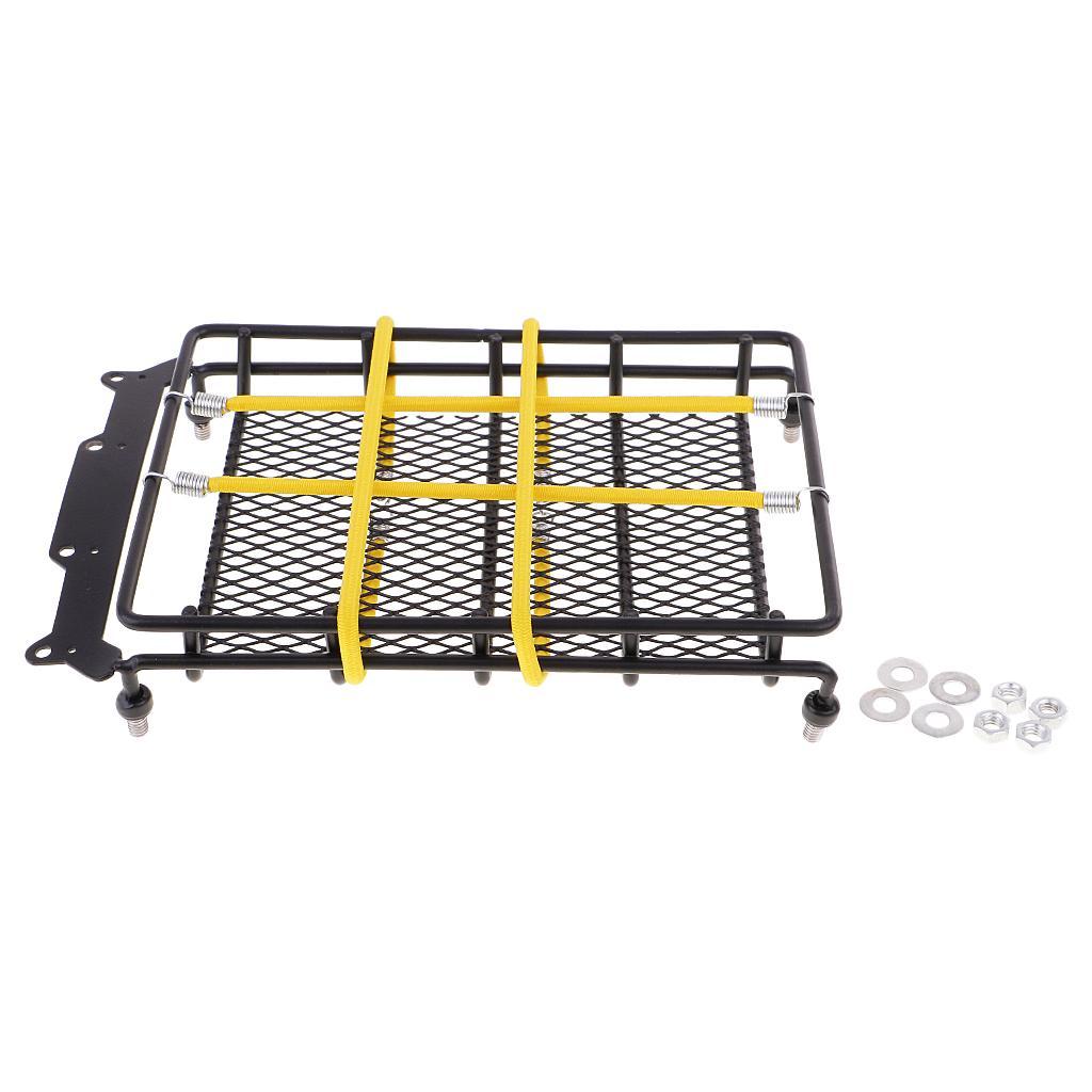 Elastic Luggage Roof Rack Net w// Hook for 1//10 RC SCX10 90046 CC01 D90 TRX4