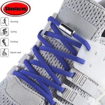Adult Sneakers Sneakers Shoelace No Tie Shoelaces Elastic Lock Quick Lazy Laces