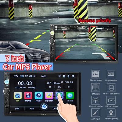 Upgraded Android 7 1 Quad Core CPU 7 inch in Dash Double Din