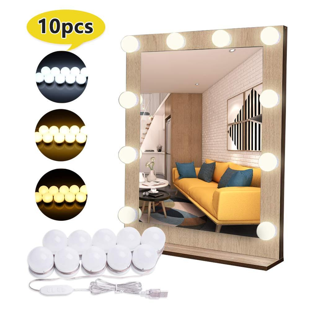 10 Pcs Hollywood Makeup Lights
