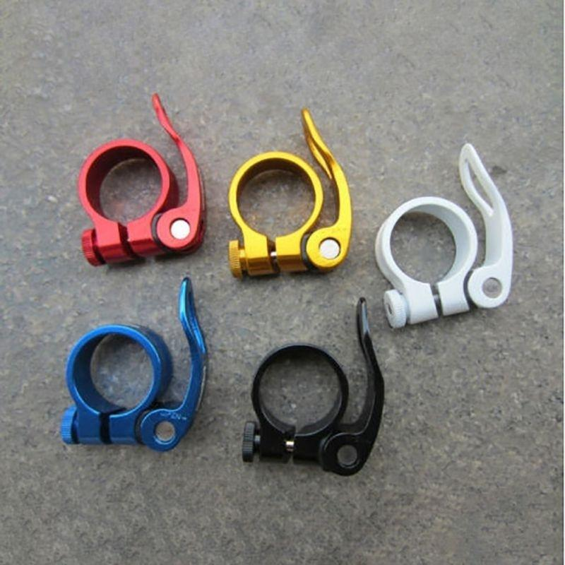 Gold//Yellow Mountain//Road Bike Seat Post Clamp 34.9mm for 31.6mm Seatpost