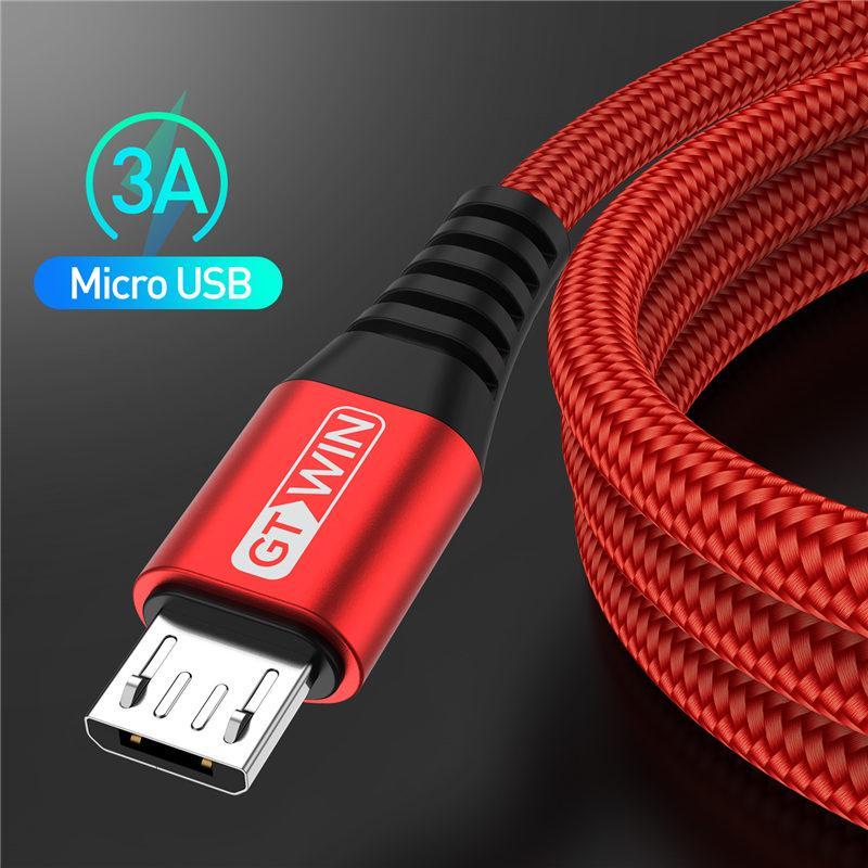 3A 1M 2M Micro USB кабель Быстрая зарядка для Xiaomi Redmi Телефон Тип C Зарядданный шнур данных для Samsung фото