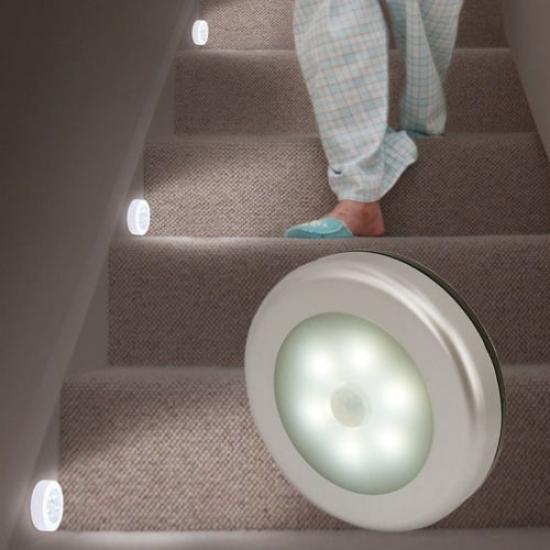 20//30//40//50CM USB Intelligent Motion Sensor Cabinet Light Stairs Wardrobe Lamp