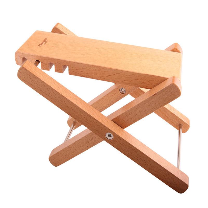 Música madera roble guitarra pie resto heces 4 altura ajustable ...
