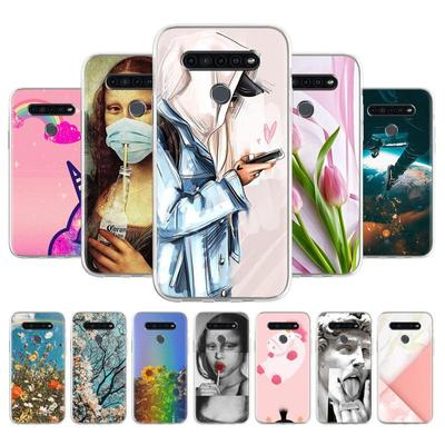Soft TPU Phone Case For LG K41S K51 Cover Anti-fall Anti-dust Bumper Phone Back Shell Protection Fundas Coque