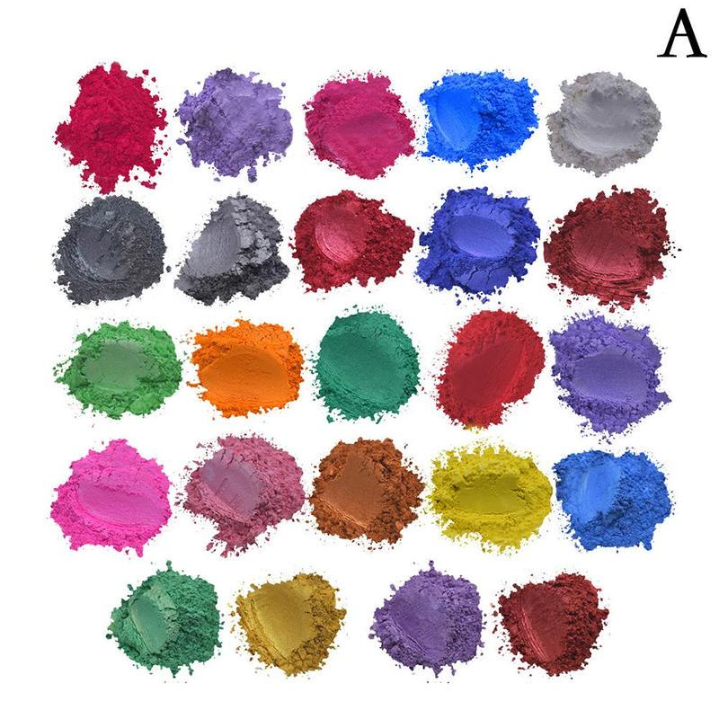 Epoxy Resin Metallic Pearl Pigment Powders Various Colours for Floors Worktop~