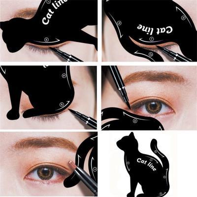 1 pc delineador maquillaje Stencil. ¡Ojo de gato fácil en segunda!