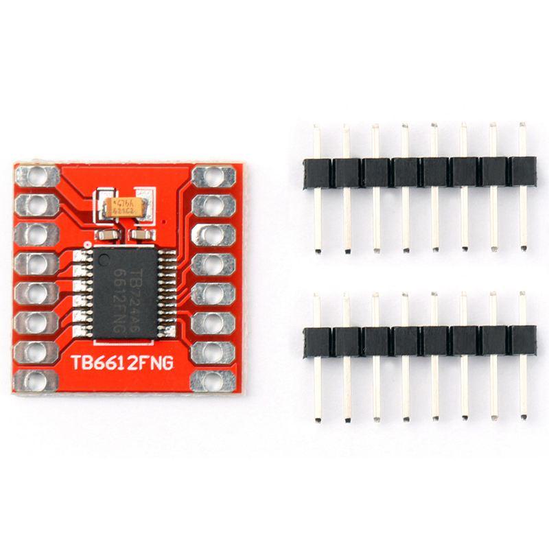 5PCS Dual DC Stepper Motor Drive Controller Board TB6612FNG Replace L298N Module