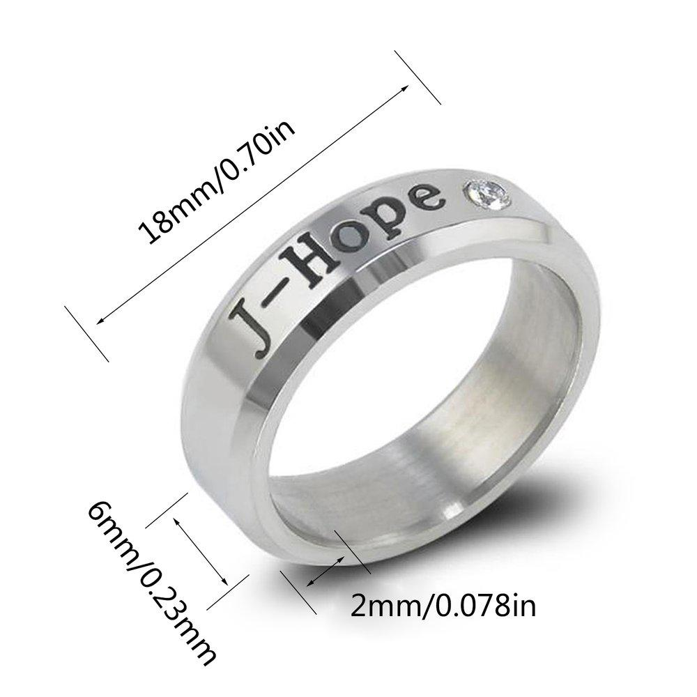 Iares 8 Style Bangtan Boys BTS Album Ring Rap Monster BTS Jewelry Rings  Accessories-buy at a low prices on Joom e-commerce platform