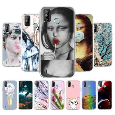 Soft TPU Phone Case For Tecno Spark 6 Go KE5 GO 2020 Cover Anti-fall Anti-dust Bumper Phone Back Shell Protection Funda Coque