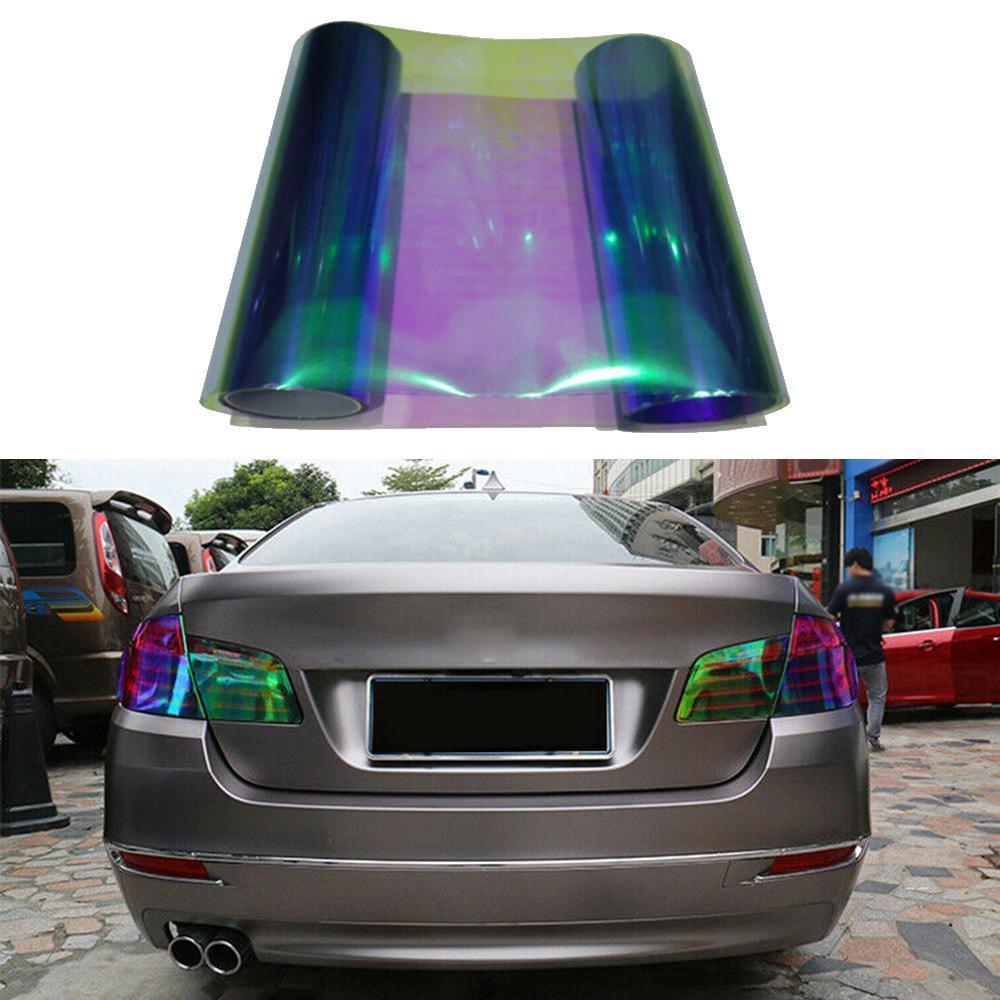 "F 12/"" x 48/"" Gloss Blue Tint Headlights Tail Lights Fog Lights Vinyl Wrap Film"