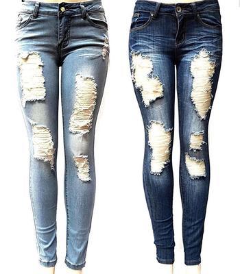 62024135976 Slim Straight Pant Vintage High Waist Jeans Women Loose Cowboy Pants. Buy ·  Boyfriend Hole Ripped Jeans Women Pants Cool Denim Vintage Stretch Jeans