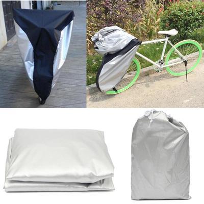 1pc Waterproof Bike Bicycle Seat Rain Cover Elastic Rain and Dust Resistant DSUK
