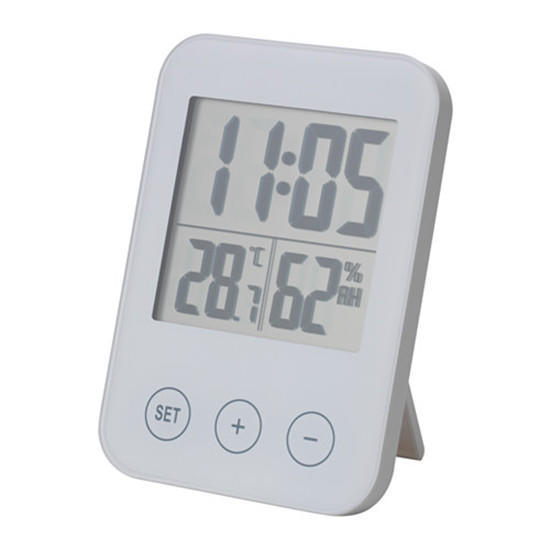 IKEA SLÅTTIS orologio con termometro igrometro bianco – acquistare a ...