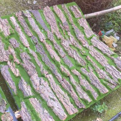 Pipe Decoration Artificial Bark Tree DIY Home Decor Green Plant Balcony