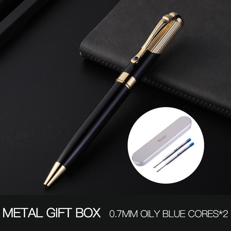 Luxury Metal Cross Line Business Pen Office Medium Nib School Pen Gift