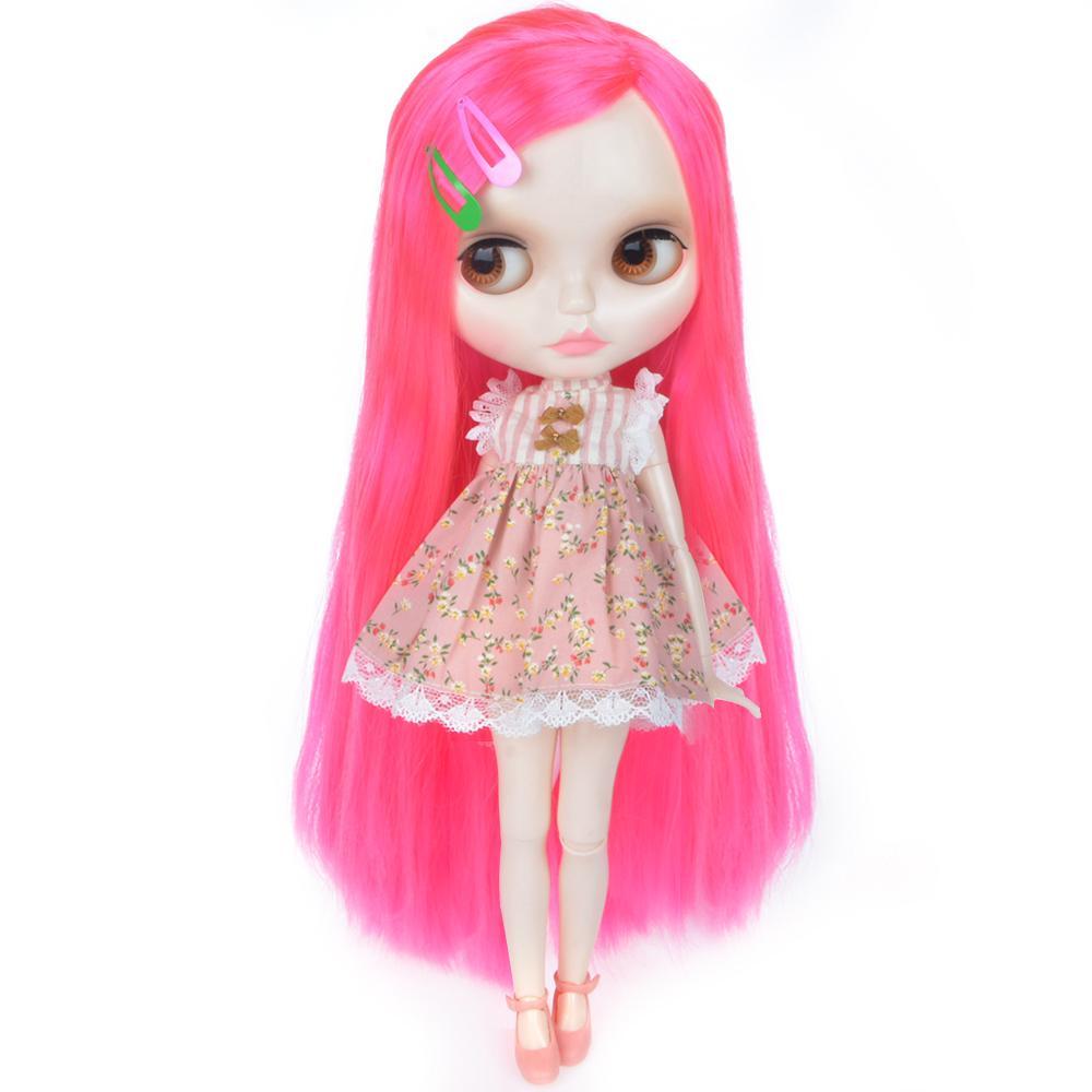 Yummon Мода Кукла Индивидуальные Blythe NBL с белой кожей блестящие лица четыре цвета Глаза, 1/6 BJD Ball Объединенные куклы Blythe Custom – купить по низким ценам в интернет-магазине Joom