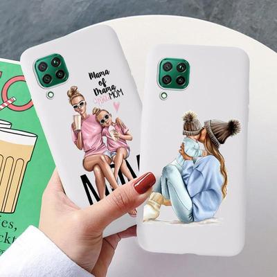 Phone Cases For Xiaomi Mi 6X 5X 8 10 CC9e Play Redmi 6A 4X K20 Note 7 5A 5 Pro Super Mom Soft Silicne Phone Hard Surface