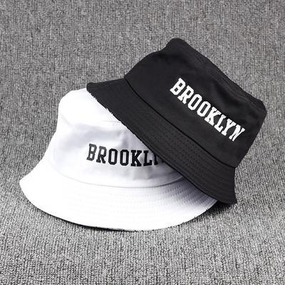 Hunting Fishing Hat Sunscreen Cotton Summer Embroidery Fashion Cotton Fisherman Hat Man Hip Hop