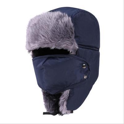 91d85786b7b Men Women Winter Earmuffs Velvet Thickening Snow Cap Ski Warm Hat
