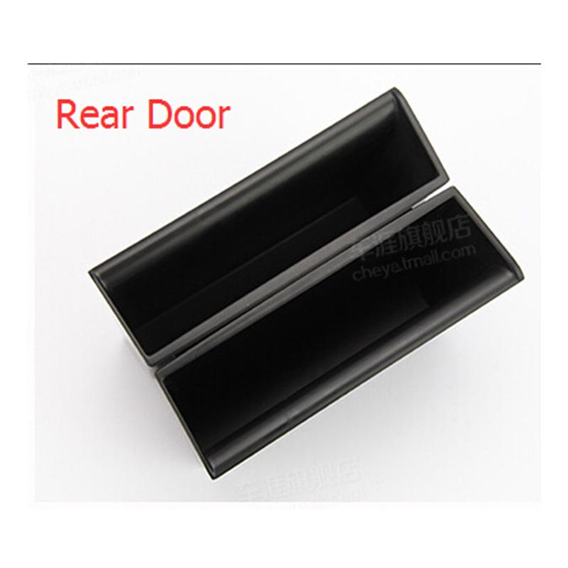 4Pcs Car Inner Side Door Storage Box Holder for Land Rover LR4 Discovery 4 2009-2016 Storage Box Holder
