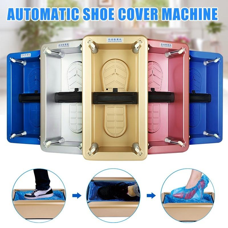 Automatic Shoes Cover Dispenser Machine Waterproof Carpet Cleaning Cover  Hot