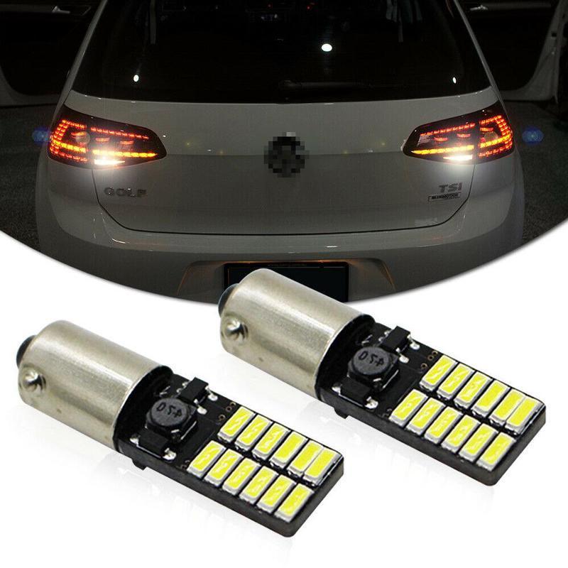 2x XENON LED Sidelight Beam 24SMD Bulbs Parking Lights ErrorFree For Citroen DS3