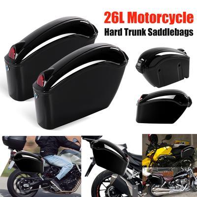 f3dd2420a0ef -56% · 3.5Price  92 Price  209. 2 Pcs Motorcycle Black Hard Trunk Saddlebags  Saddle Bags Side Box Bracket light For Cruiser. Buy