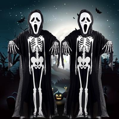 Adult Gothic Vampire Cane Skeleton Halloween Fancy Dress Costume Accessory