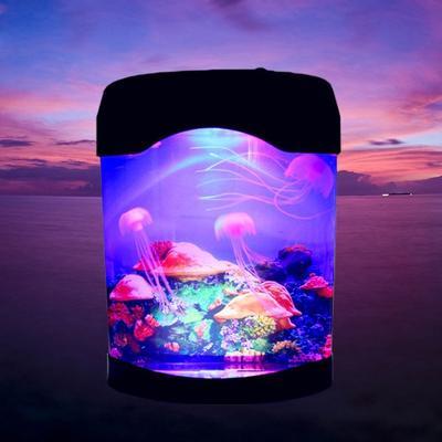 Lampka Do Akwarium Meduza Lampka Nocna Fish Tank Nastrój