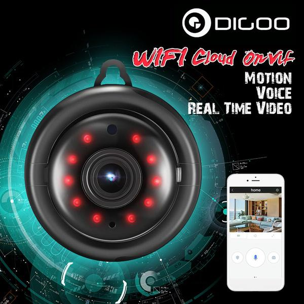Digoo DG-MYQ 2 1mm Lens 720P WIFI 2Way Audio Smart Home Security IP Camera  Motion Detection Night-buy at a low prices on Joom e-commerce platform