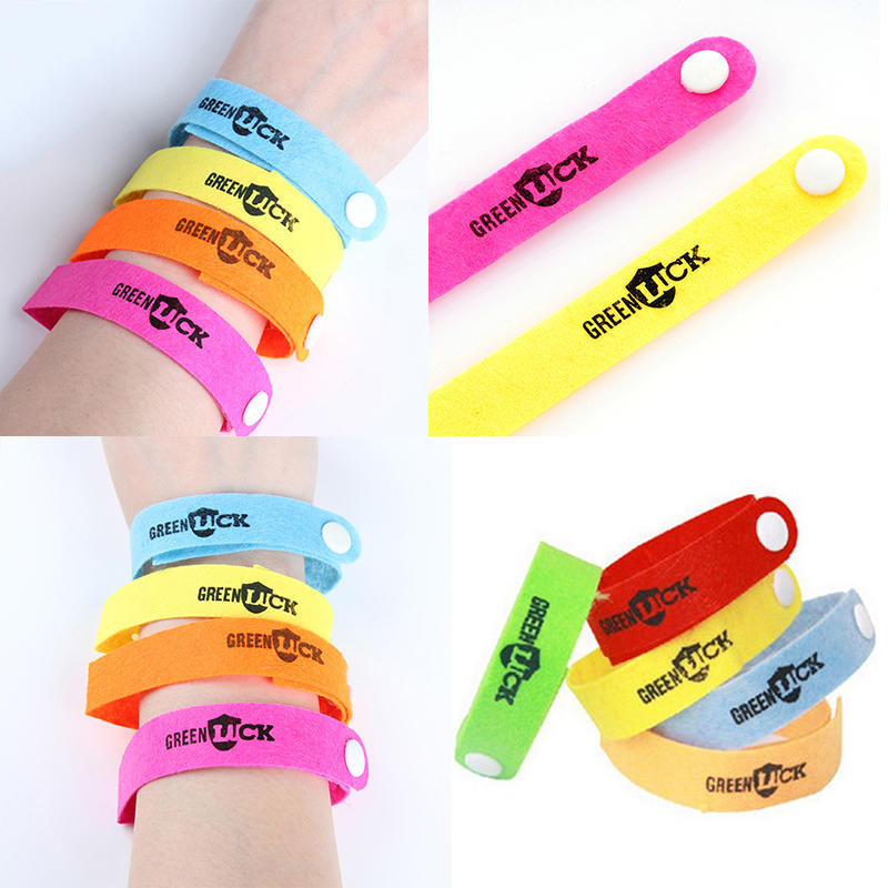 Ultrasonic Bracelet Anti Mosquito Mozzie Insect Bugs Repellent Band Repeller