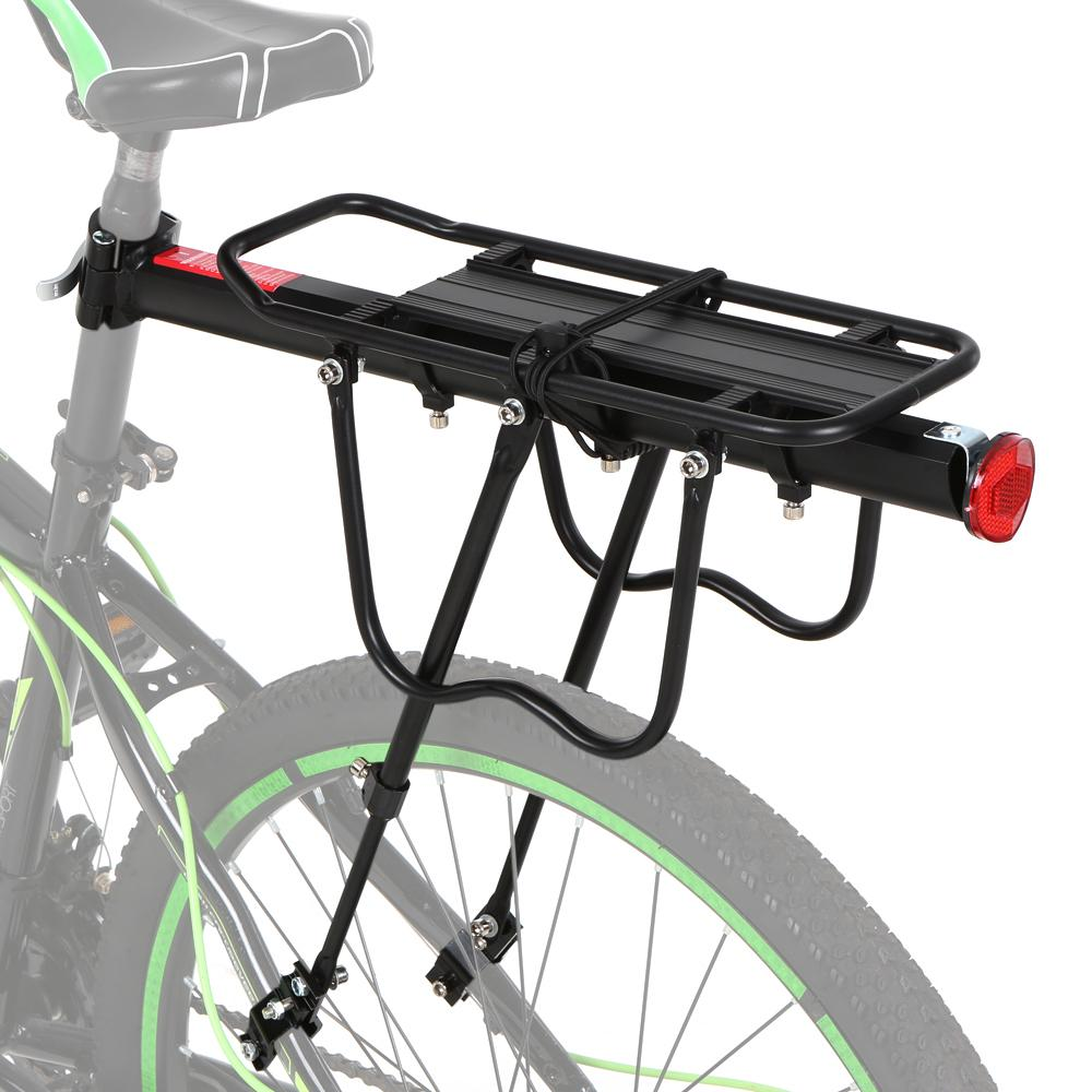 Aluminum Alloy Bicycle Carrier Rear Bike Rack Bicycle Cargo Rack Quick Release