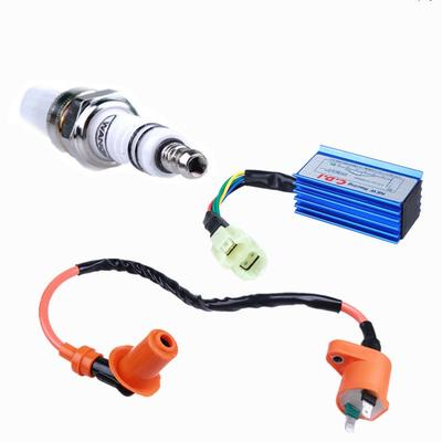 Performance Racing Cdi+Ignition Coil+Spark Plug Gy6 50/125 ... on