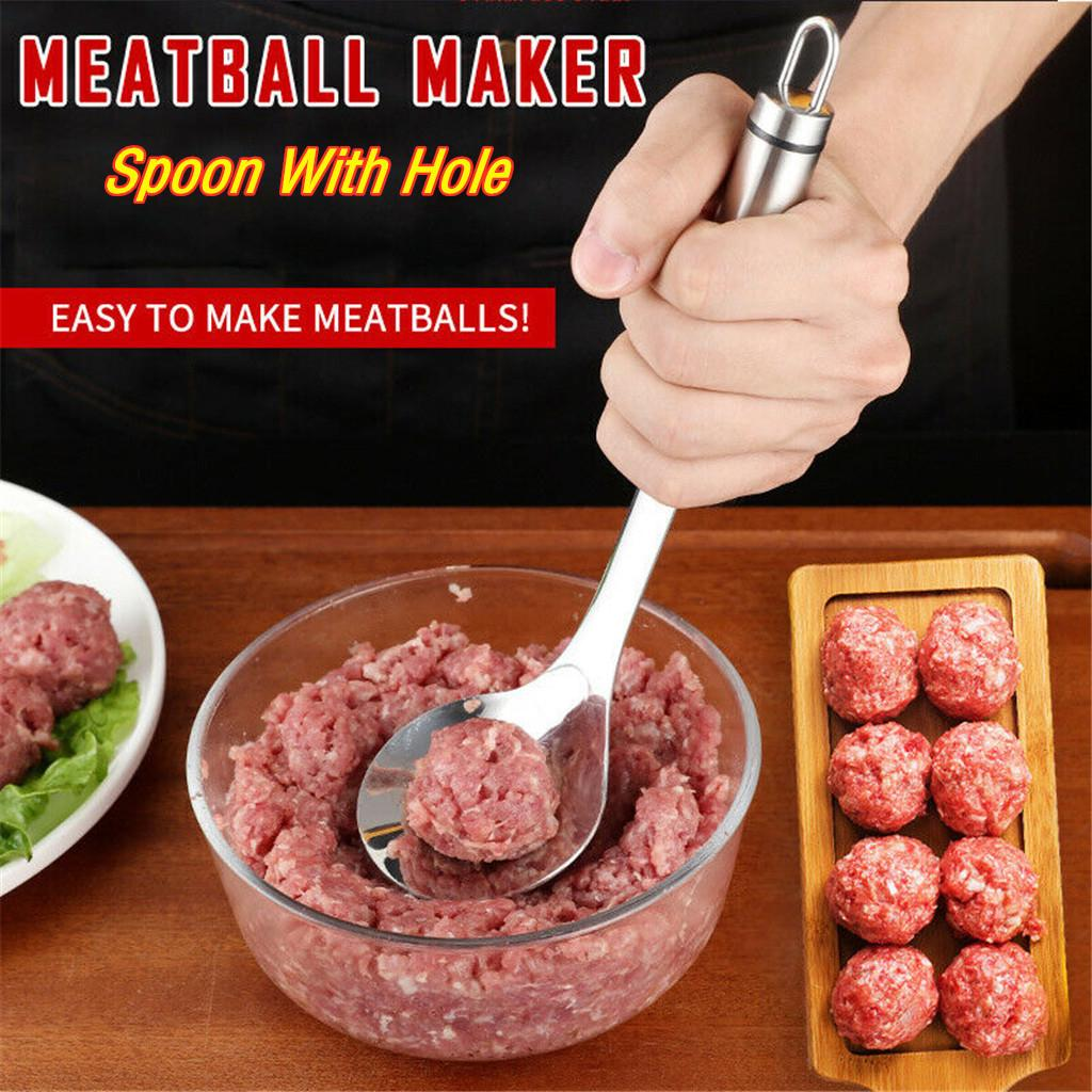 New Ball Maker Stainless Steel Stuffed Meatball Clip Meat Rice Ball Kitchen Tool