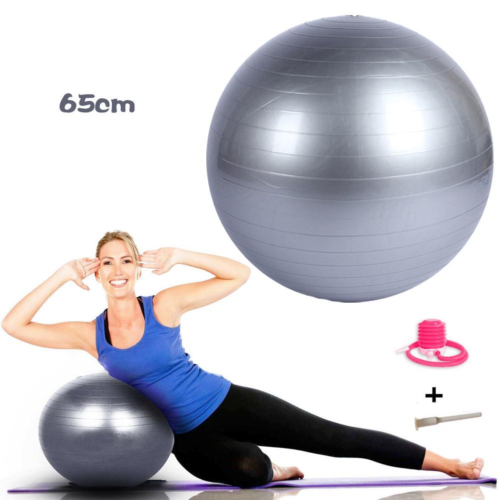 Pregnancy Birthing Ball Swiss Abs Ninja Anti Burst Gym Ball 65cm Pilates PVC